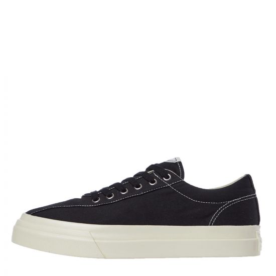 stepney workers club dellow canvas trainers YA01012 black