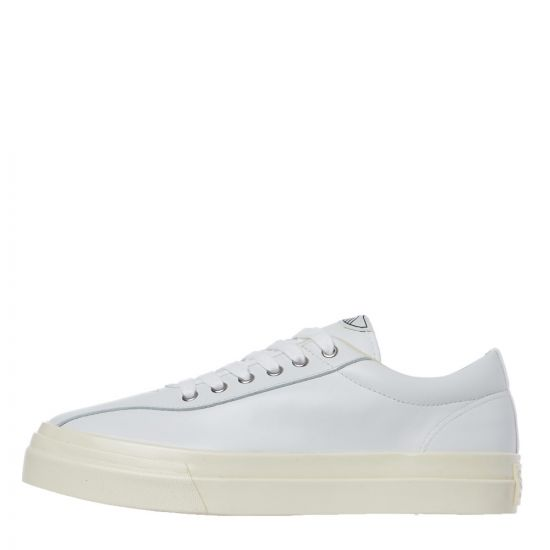 stepney workers club dellow leather trainer YA01500 off white