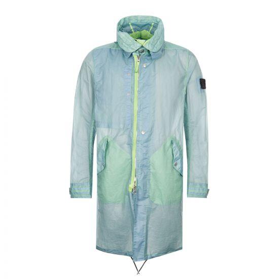 Stone Island Shadow Project Opak Jacket | 721970105 V0052 Green / Blue
