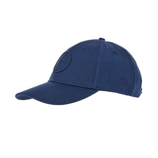 Stone Island Cap | 721599168 V0025 Marine Blue