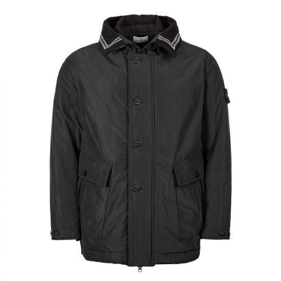 Stone Island Micro Reps Jacket 711540626 V0029 In Black