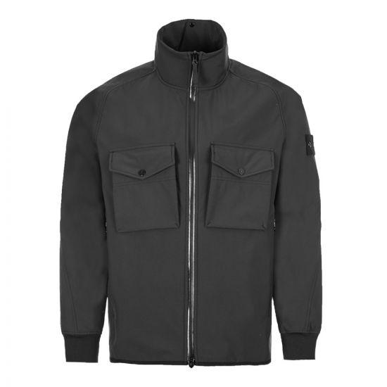 Stone Island Ghost Piece Jacket Polyester Stretch 5L - Black  21887CP -1