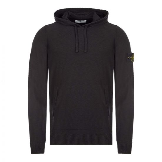 Stone Island Knitted Hoodie - Black  21882CP -1