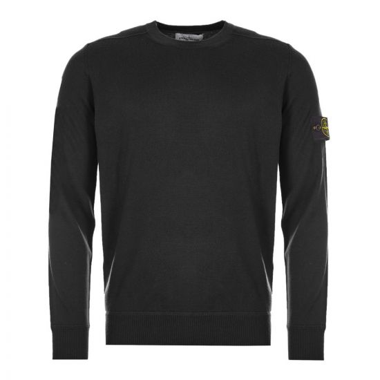 stone island jumper 7315526C4 V0029 black