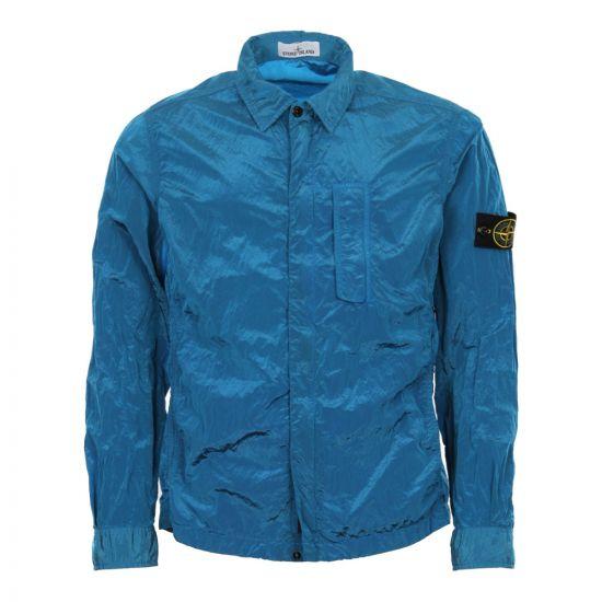 Stone Island Overshirt Blue 681510844 V0023