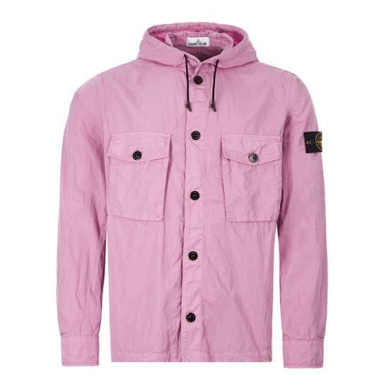 Stone Island Overshirt - Light Purple 21115CP -1