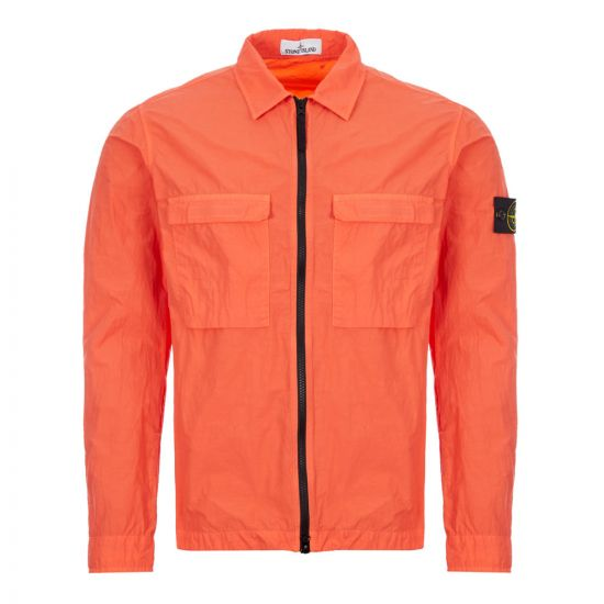stone island overshirt 721511102 V0037 orange
