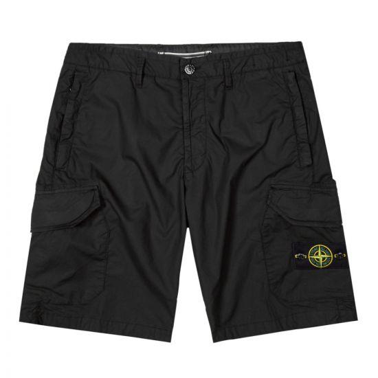 stone island bermuda shorts 7215L0403 V0029 black