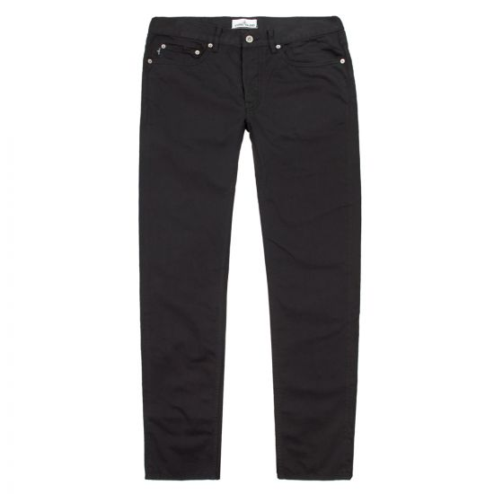stone island black jeans slimfit spw6515j1bzm v0029