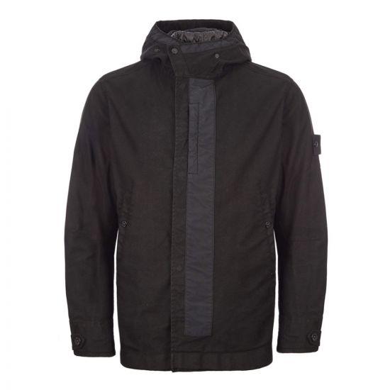 Stone Island Ghost Piece Jacket Military Spec | 7115442F1 V0029 Black