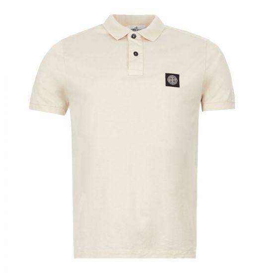 Stone Island Polo Shirt | 721522613 V0090 Beige