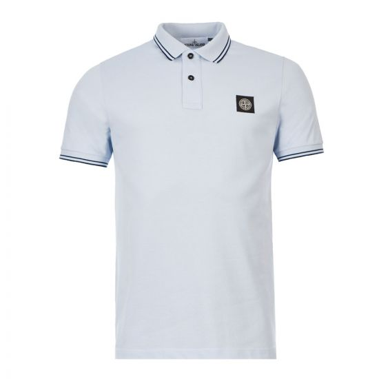 Stone Island Polo Shirt - Blue 21226CP -1