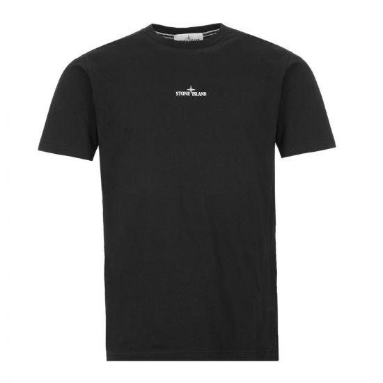 tone Island T-Shirt Drone Two 72152NS84 V0029 Black