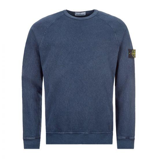Stone Island Sweatshirt - Blue 21795CP -1