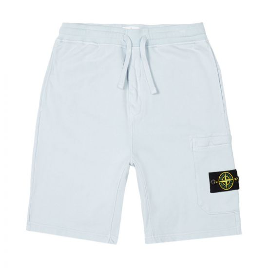 stone island sweat shorts 721564651 V0041 blue