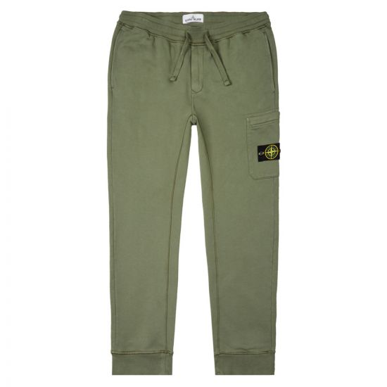 Stone Island Sweatpants - Green 21221CP -1