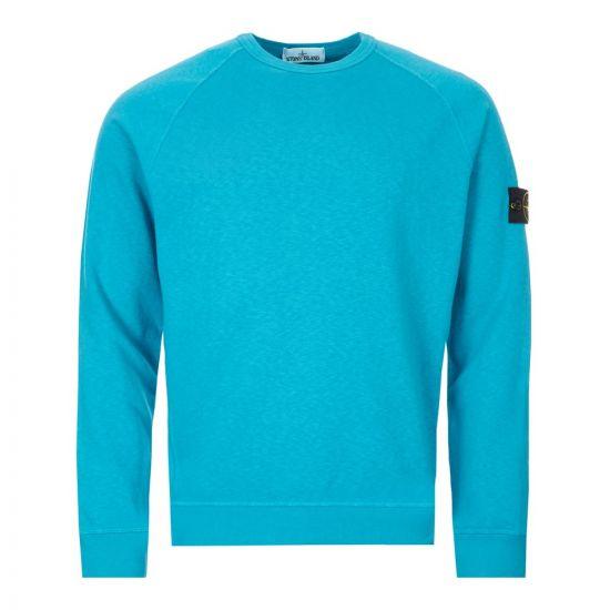 Stone Island Sweatshirt - Turquoise  22256CP -1