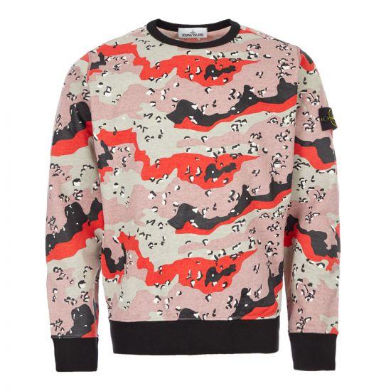 Stone Island Sweatshirt - Desert Camo 21885CP 0