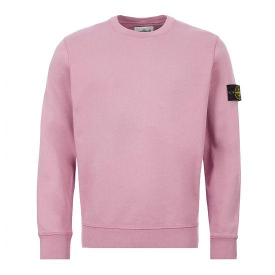Stone Island Sweatshirt – Dusty Pink 21411CP -1
