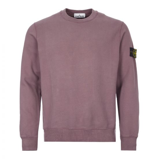 Stone Island Sweatshirt  731563020 V0045 Mauve  Aphrodite