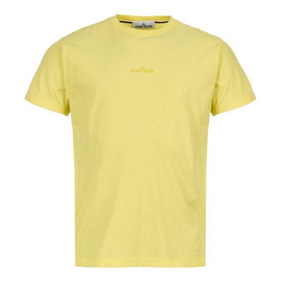 stone island t-shirt 70152NS89 V0031 yellow