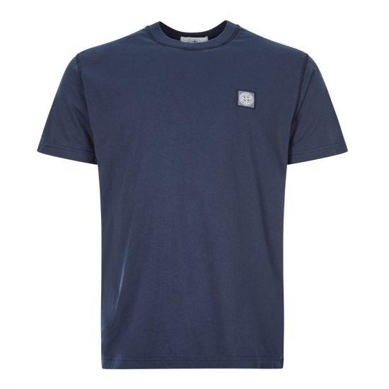 stone island t-shirt 721523757 V0028 marine blue
