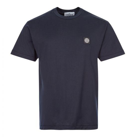 Stone Island T-Shirt Logo | 721524113 V0020 Navy