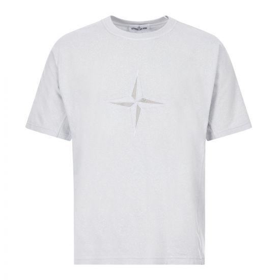 stone island t-shirt 721524555 V0041 sky blue