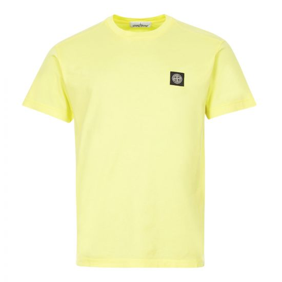 Stone Island T-Shirt Logo | 721524113 V0031 Lemon