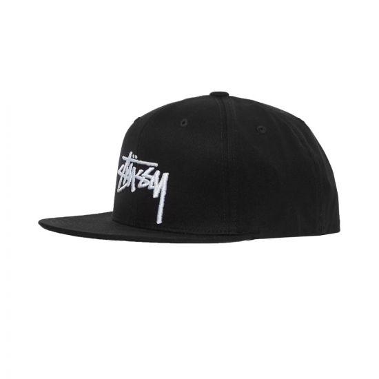 Stussy Cap Stock Black 131950 BLK