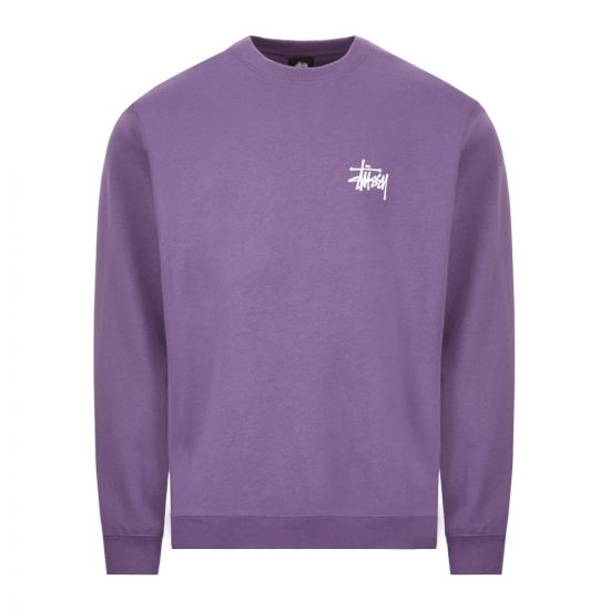 Stussy Sweatshirt - Purple 22011CP -1