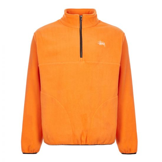 Stussy Fleece Basic Polar 118333 ORANGE Orange
