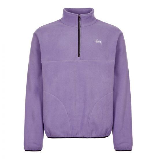 Stussy Fleece Basic Polar 118333 VIOLET Violet