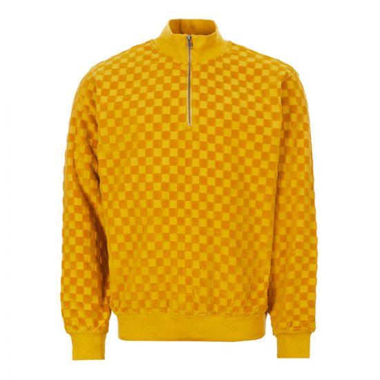 Stussy Sweatshirt Zip – Mustard 21024CP -1