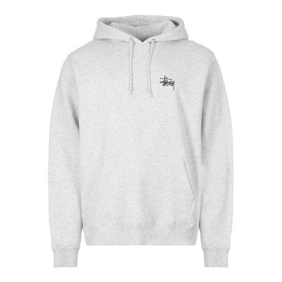 stussy hoodie 1924416 ASH grey