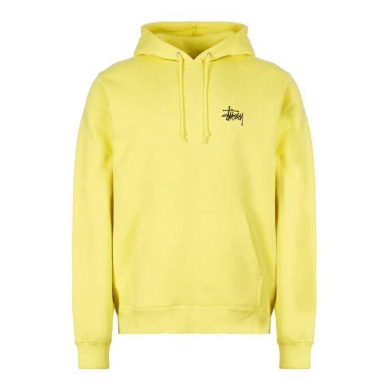 stussy hoodie 1924416 LEMON lemon
