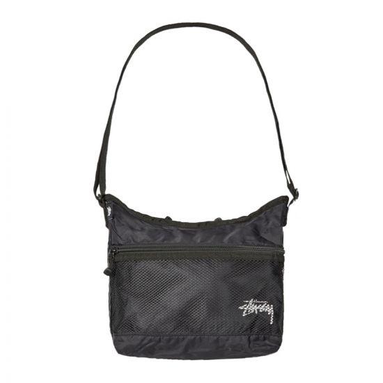 Stussy Shoulder Bag - Black 22009CP -1