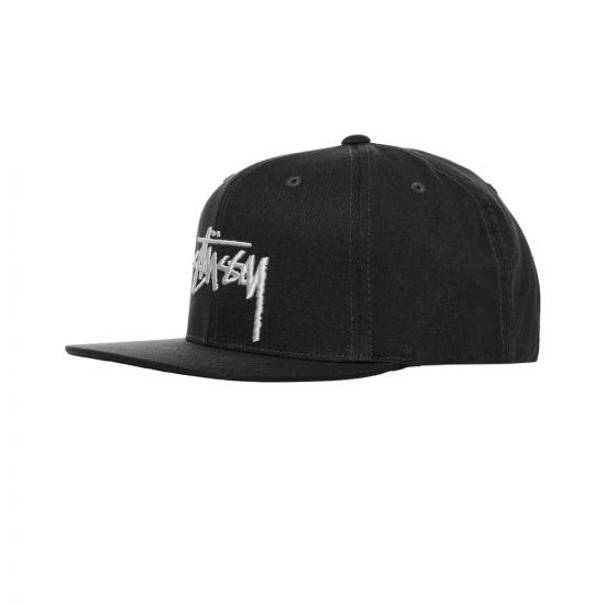 Stussy Cap Stock - Black 22002CP -1