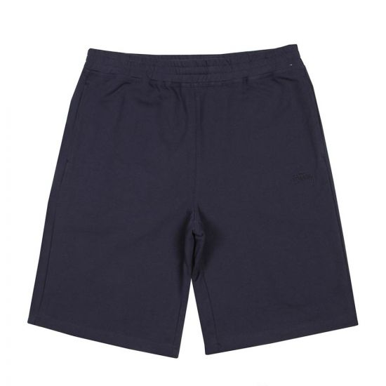 Stussy Stock Sweat Shorts 112219 Navy