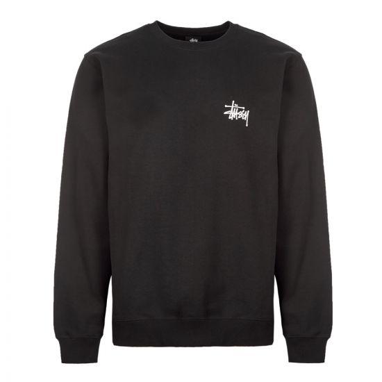 Stussy Sweatshirt Basic | 1914464 BLK Black
