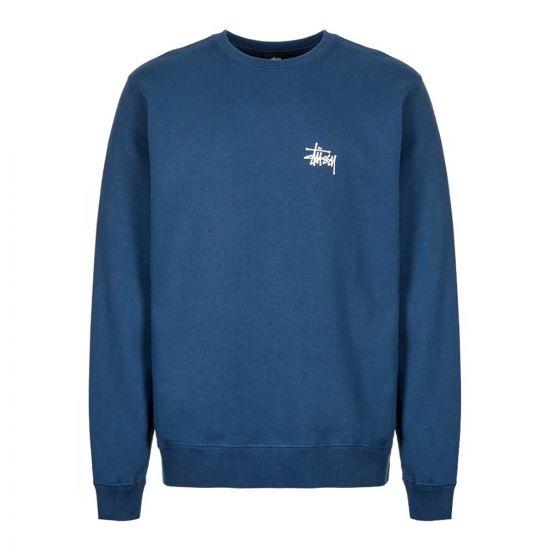 stussy sweatshirt 1914416 NAVY navy