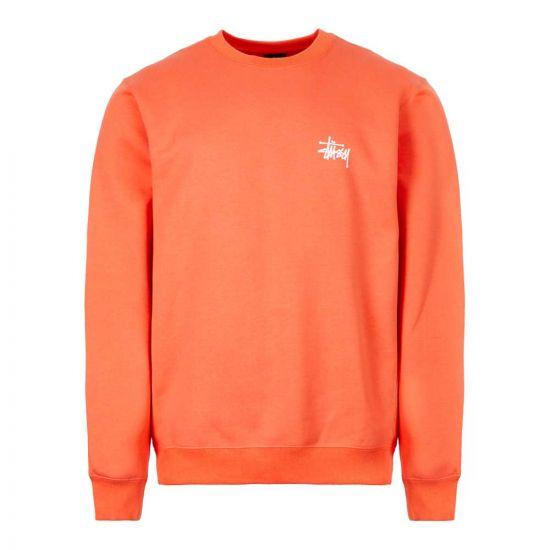 Stussy Sweatshirt | 1914416 ORG Orange