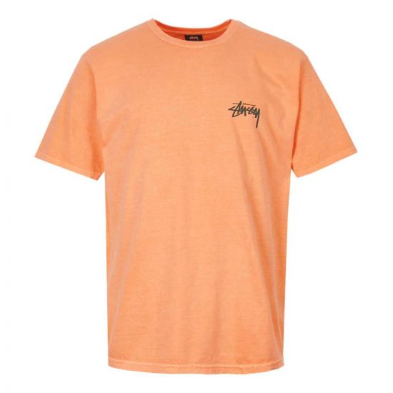 Stussy T-Shirt 1904398 CORAL Coral