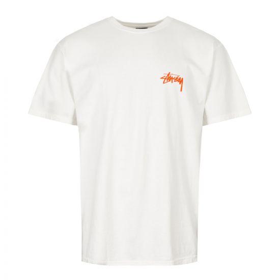 Stussy T-Shirt   1904398 NATURAL