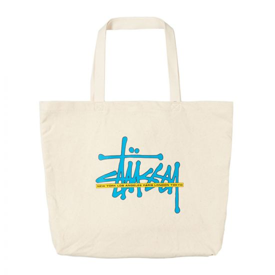 Stussy Tote Bag | 134220 NAT Natural
