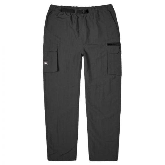 stussy utility cargo trousers N979002 16350Y001 black