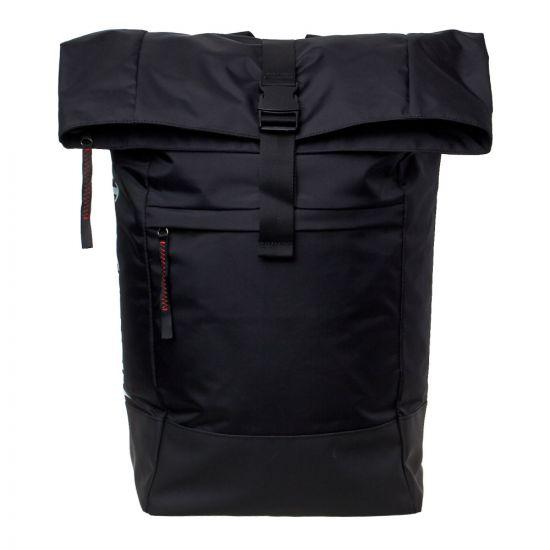Stutterheim Backpack   1907 1001 Black