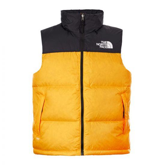 The North Face Nuptse Vest NF0A3JQQ70M Yellow