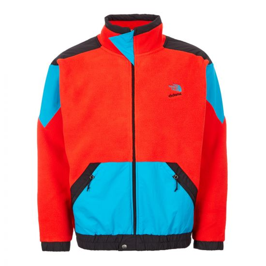 North Face Extreme Fleece Jacket - Red / Black / Blue 21391CP 0