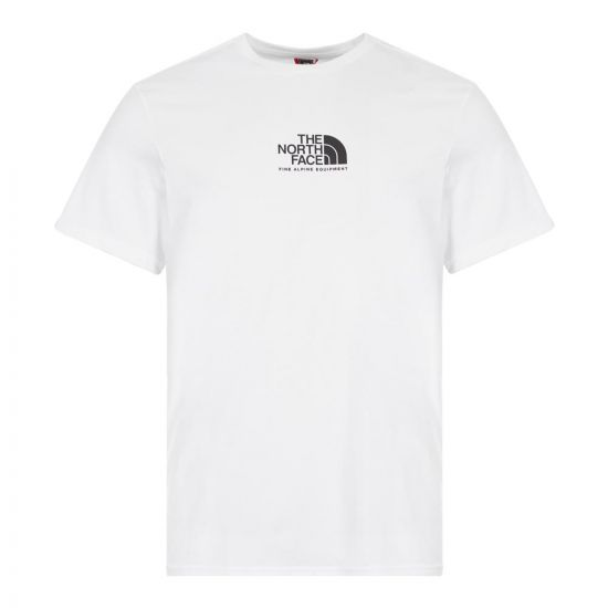 The North Face Fine Alpine Equipment 3 T-Shirt | NF0A4SZULA9 White